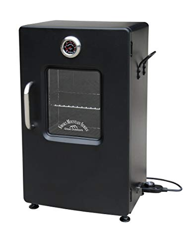 LANDMANN MCO 32954 Landmann Smoky Mountain 26' Electric Smoker-Black-OPP w/Viewing W