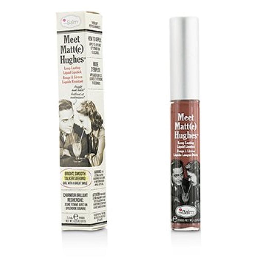 グリーンバック思い出させる折る[TheBalm] Meet Matte Hughes Long Lasting Liquid Lipstick - Sincere 7.4ml/0.25oz