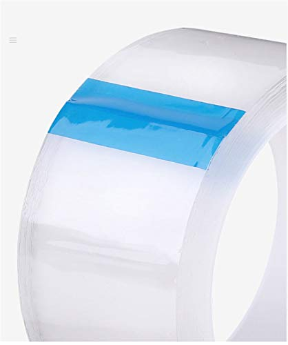 Verakee Ztengyu-Weather Stripping Self Adhesive Bathroom Kitchen Sink Cleanable Pool Mould Proof Nano Silicone Stickers Sealing Strip Tape, Easy to install (Color : Transparent, Length : 5M)
