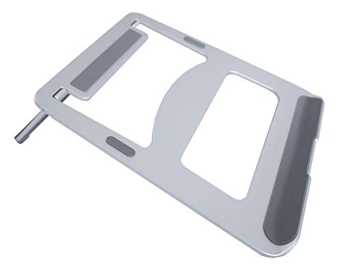 Bramley Power Solid Aluminium Desktop Laptop Stand for Apple Macbook...