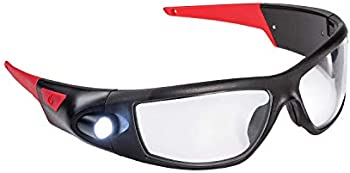 Coast SPG400 Rechargeable Lighted LED Safety Glasses with Inspection Beam