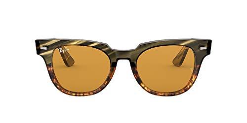 Ray-Ban 0RB2168 Gafas de sol, Green Gradient Brown Striped,...