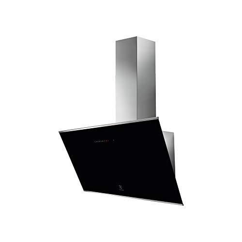 Electrolux KFVB 19K - Campana extractora de pared (90 cm), color negro
