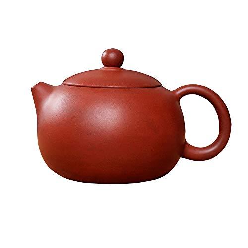 Chinesische Yixing Zisha Teekannen, Orientalische Handgemachte Purpurrote Lehm Teekanne, Xishi Lila Ton Teekanne Für Eine Person, Für Geschenk Und Haushalt, 140Ml