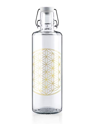 Soulbottle Flasche, Glas, transparent, 1 Liter