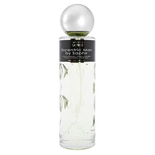 PARFUMS SAPHIR Excentric Man - Eau de Parfum con vaporizador para Hombre - 400 ml