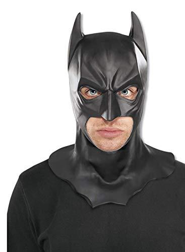Rubies pour Adulte Officiel Batman Dark Knight Full Masque – Taille Unique, Beige
