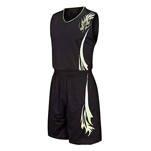 LHDDD NBA Basketball Jersey NBA Basketball Uniform Sportanzug Jersey Basketballanzug Anzug Basketballhemd Shorts schweißabsorbierend schnell trocknend Stretch starker Ballanzug Sommer Trikots