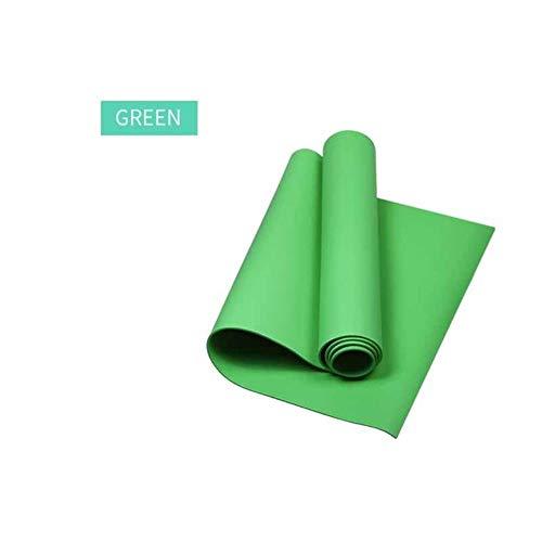 GEGAG Fitness Smaakloze Gym Oefenpads Pilates Yogamat Yogamat Extra Dik 173 * 60 * 0.4CM EVA Antislip Kussen Mat Voor Heren Dames