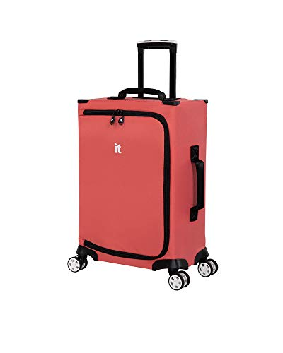 it luggage MaXpace Softside Spinner Wheel, Peach Beauty, Carry-On 22-Inch