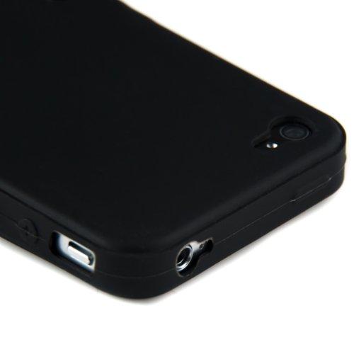Custodia chic in SILICONE per Apple iPhone 4 / 4S