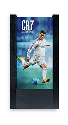 Lampada da Tavolo nera Cristiano Ronaldo Cr7
