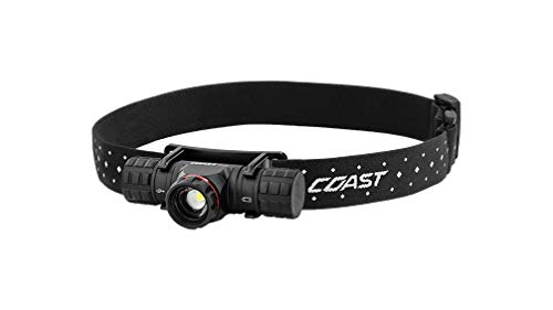 Coast - 30325 XPH30R 1000 Lumen Rechargeable Dual Power LED Headlamp