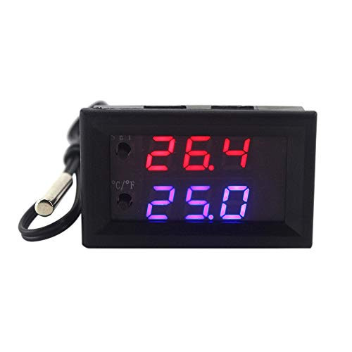 KKmoon DC 12V LED Programable Regulador del Termostato Digital ...