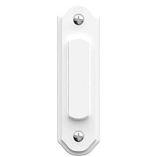 Heath/Zenith SL-259-03 Wired Lighted Push Button, White