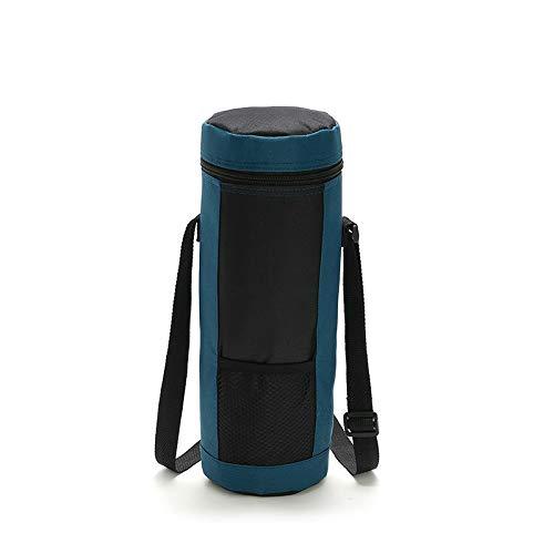 lianlian Portable Aislamiento Bolsa de Almacenamiento del Vino Bolsa portátil Cilindro de Tela Oxford Aislamiento Paquete Vino de Hielo BBAG SH0071 / 8L (Azul Marino) (Color : Navy Blue)