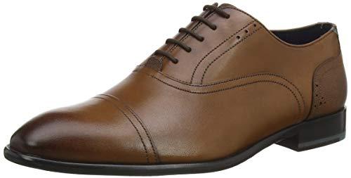 Ted Baker Circass, Zapatos de Cordones Oxford Hombre, Marrón (Tan Tan), 41 EU