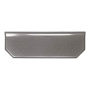 12 inch Floating Shelves Shower Caddy - Brushed Nickel - Wall Mounted Bathroom Organizer Storage Mount Flatback
