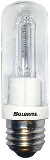 Bulbrite Q100CL/EDT 120-Volt Halogen JDD Type Tubular Medium E26 Bulb, 100-Watt [並行輸入品]