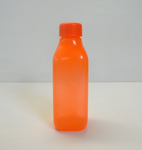 TW1000 Tupperware to go Eco 500 ML Naranja EcoEasy Certificado quadtratisch Botella Quader
