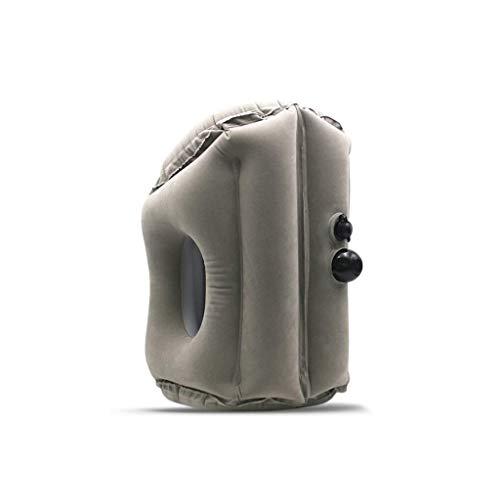 WYJBD Viajes Almohada Inflable, cómodo ergonómico y Jefe portátil Resto del Cuello Almohada, diseño Patentado, Viaje Best Pillo (Color : A)