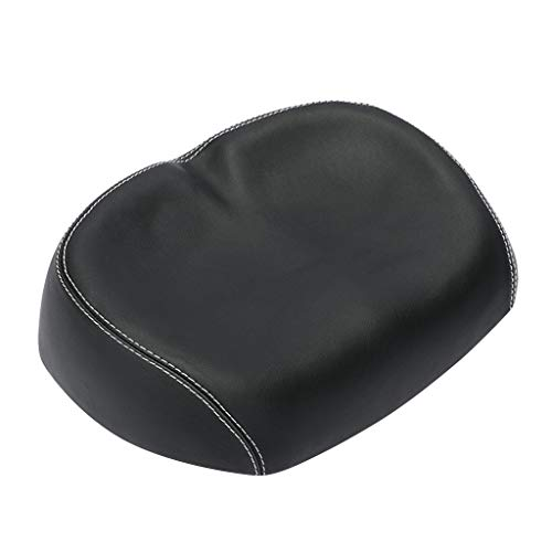 Dnliuw Bike Saddle Noseless Bike Seat Widened Comfort Bicycle Seat Cycling Cushion