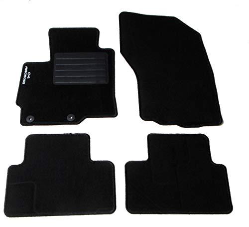 CARMATS Compatibles avec tapis C4 AirroSS en moquette 2 fixations d
