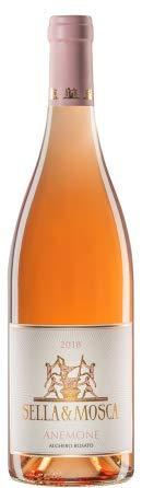6 x 0.75 l - Anemone. Alghero Rosato Doc, Vino rosato sardo.prodotto dalla grande cantina Sella & Mosca