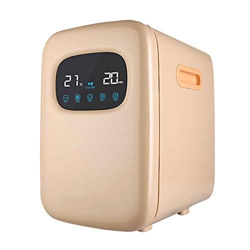 LYYAN Gabinete portátil para Toallas Calientes, hogar pequeño UV con Secado, Limpiador Multifuncional para Calentador de biberones (Verde, Azul, Caqui)