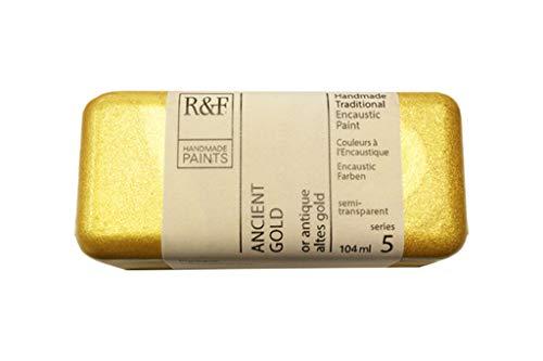 R&F 1159 Encaustic Paint 104ml, Ancient Gold