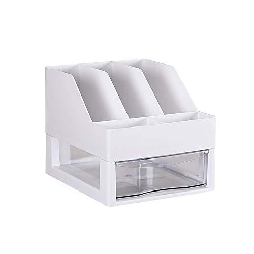 JenLn Estante Oficina Carpeta clasificadora de Almacenamiento en Rack de Almacenamiento de Escritorio A4 Papel Mueble con cajón for el hogar Oficina y Muestra de bastidores de Oficina
