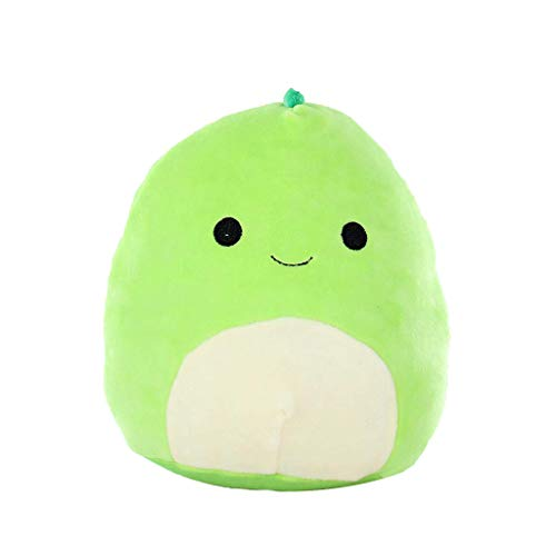 Plush Stuffed Toy,Cartoon 3D Dinosaur Green Pillow Soft Lumbar Back Cushion,Children Family Festival Birthday Gifts Home Decoration