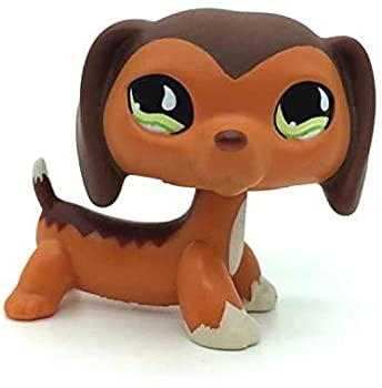 Greneric LPS Toy Savannah Savvy Dachshund Dog Authentic Rare QP Littlest Pet Shop