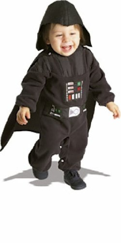Star Wars Darth Vader Neugeborenes Fleece-Kostüm, 0 - 9 Monate
