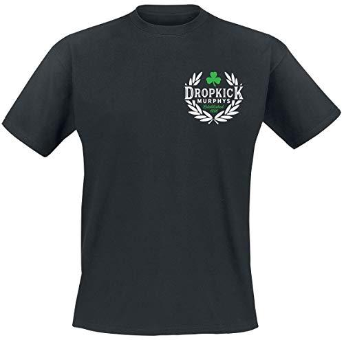 Dropkick Murphys Laurel Männer T-Shirt schwarz M 100% Baumwolle Band-Merch, Bands