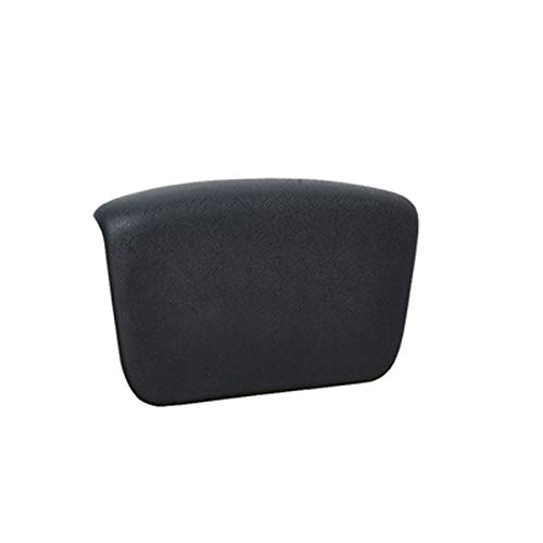 BAOFUR Cushioned Bathtub Head Rest Pillow With Suction Cups For Neck And Back,Non-Slip Spa Bathtub Pillow,waterproof PU Material,strong Suction Cup,detachable.