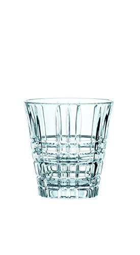 Spiegelau & Nachtmann, 4-teiliges Becher-Set , Kristallglas, 260 ml, Square, 102266
