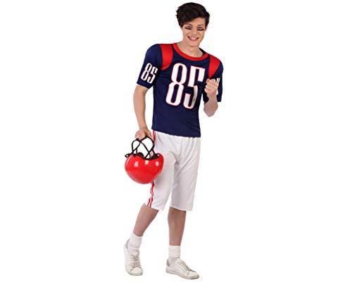 Atosa-61599 Atosa-61599 Kostüm Rugby Jungen, Sport, Herren, 61599, Azul, Jugendliche