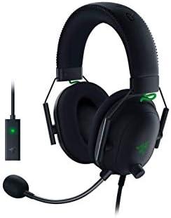 Razer BlackShark V2 Gaming Headset THX 7 1 Spatial Surround Sound 50mm Drivers Detachable Mic product image