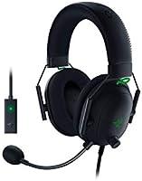 Razer BlackShark V2 Gaming Headset: THX 7.1 Spatial Surround Sound - 50mm Drivers - Detachable Mic - PC, PS4, PS5,...