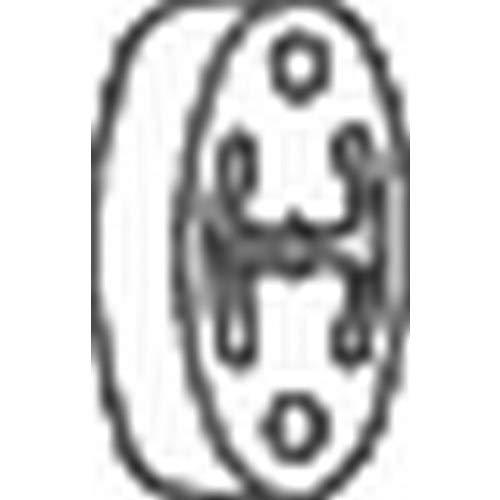 Bosal 255-212 Butée élastique, silencieux