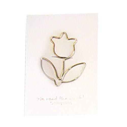 N/A/ HipyYAN - Pinzas de metal con forma de animal, diseño de animal, para oficina, escuela, regalo