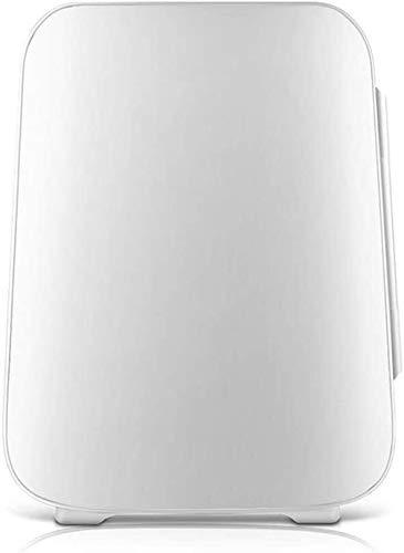 YYhkeby Mini frigo per Camera da Letto Mini Frigorifero Portatile Portatile per Auto Coca Cola Mini frigo Bianco con Freezer Jialele