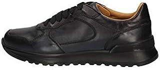 BRIAN CRESS BY CAMPANILE Scarpe Sneakers Uomo X222 Pelle Blu Originale AI