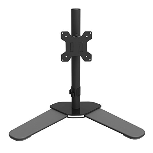 suptek Soporte Simple para Monitores, Soporte Monitor para 13-27 Pulgadas LED/LCD Soporte Monitor Mesa hasta 10KG de Cada Brazo, VESA 75/100 ML6401