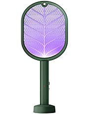 SOLUSTRE Bug Zapper Racket Oplaadbare Vliegenmepper Elektrische Zapper Insect Zapper Racket Bug Racket Usb Opladen Voor Indoor Outdoor