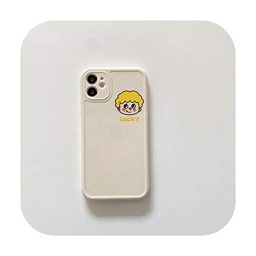 Suhoo - Carcasa para iPhone 12 Pro Max Mini 11 7 8 Plus X XS Max XR SE 2020, diseño de dibujos animados