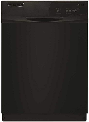 Amana ADB1400AG 24 Inch Wide 12 Place Setting Energy Star Rated Built-In Dishwas, Black