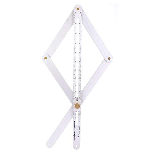 buscador de ángulo de 450x15mm, regla de ángulo, para el marco de medición que detecta carpintería industrial