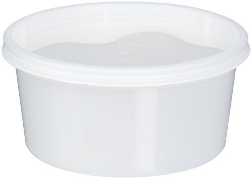 Extreme Freeze Reditainer Freezeable Deli Food Containers w/ Lids - Food Storage (12 Ounce - Package of 40)